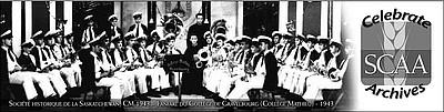 CM.1943 - Fanfare du Collège de Gravelbourg (Collège Mathieu) - 1943