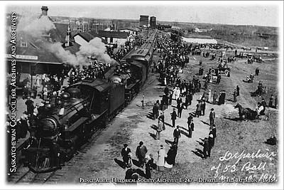 E-247 - Departure 53rd Battalion - 1915
